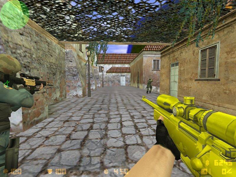 Модель awp cs 1.6 Gold Weapons