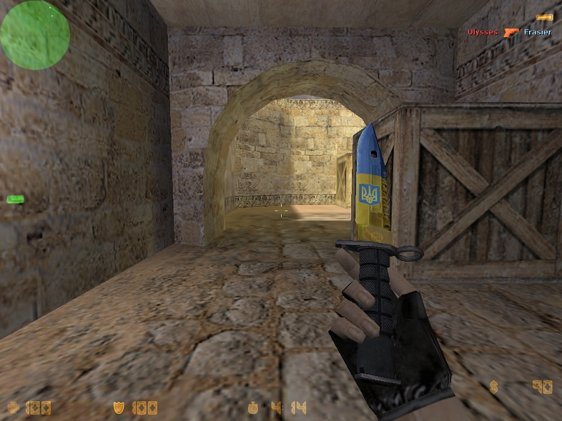 Модель knife cs 1.6 Ukraine